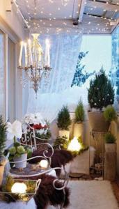 exemple de plantes sur une terrasse
